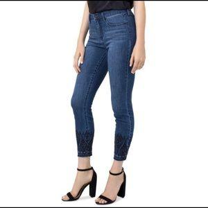 Liverpool Jeans Kayden Raw Hem Skinny High Rise 6